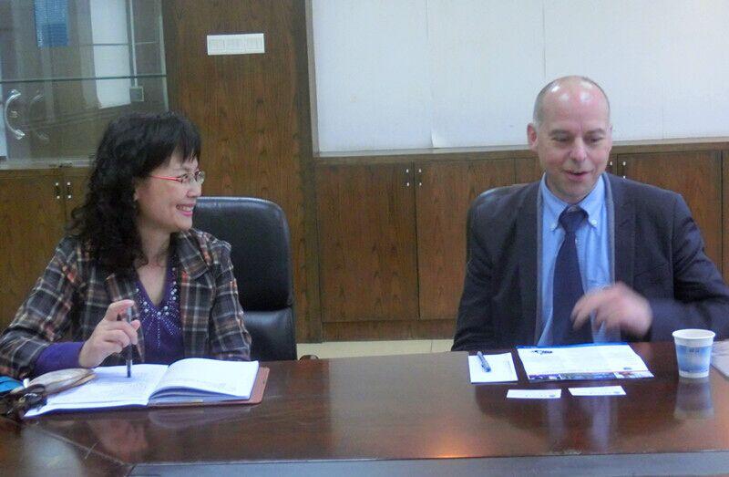 加拿大北阿尔伯塔理工学院国际与继续教育合作部主任来访