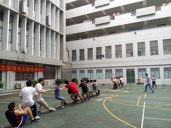 【华南先进光电子研究院】我院举行首届趣味运动会