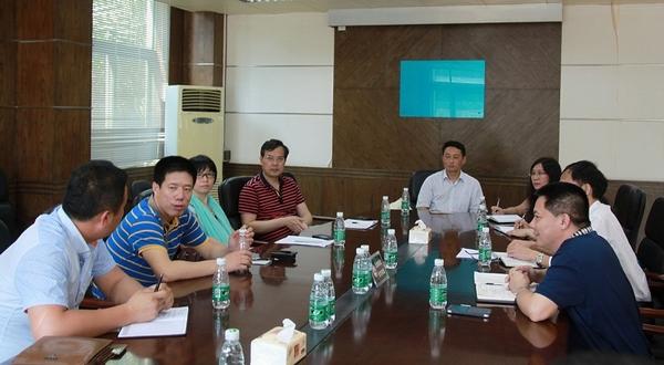 中国职业技术教育学会领导莅临南海校区调研工作