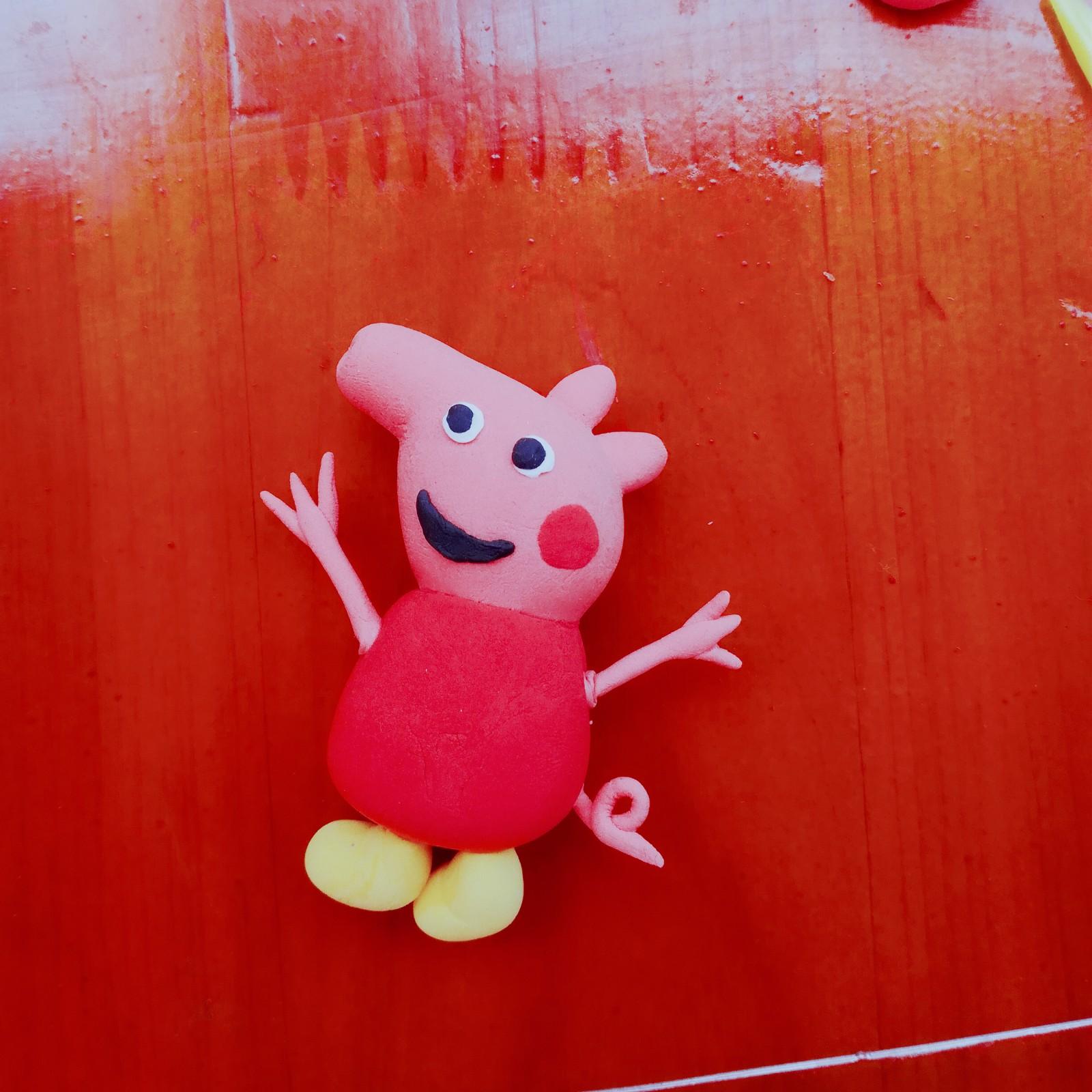 粘土作品小猪佩奇
