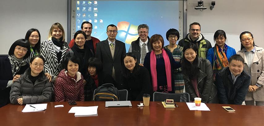 美国顶级教育评估评价专家Gary Miron 莅临国际商学院举办讲座和工作坊
