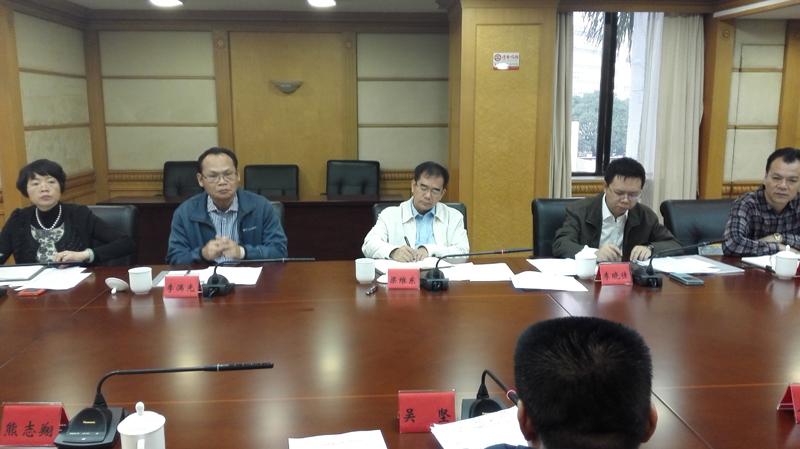 吴坚副校长出席南海区属地大专院校工作座谈会