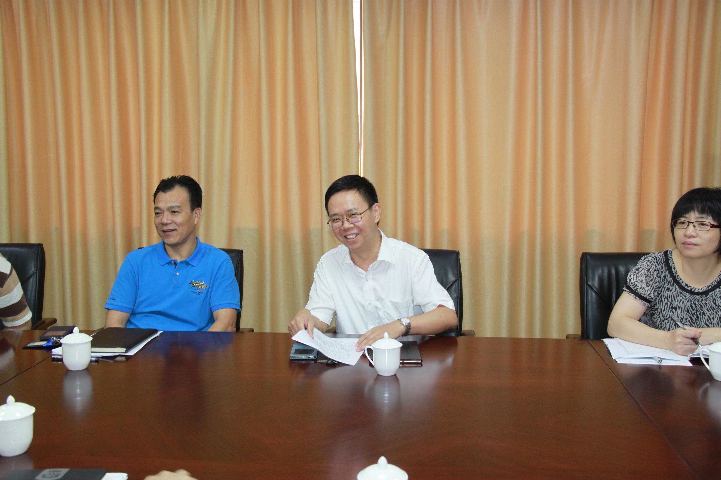 我校将与南海区政府建立新型战略合作关系
