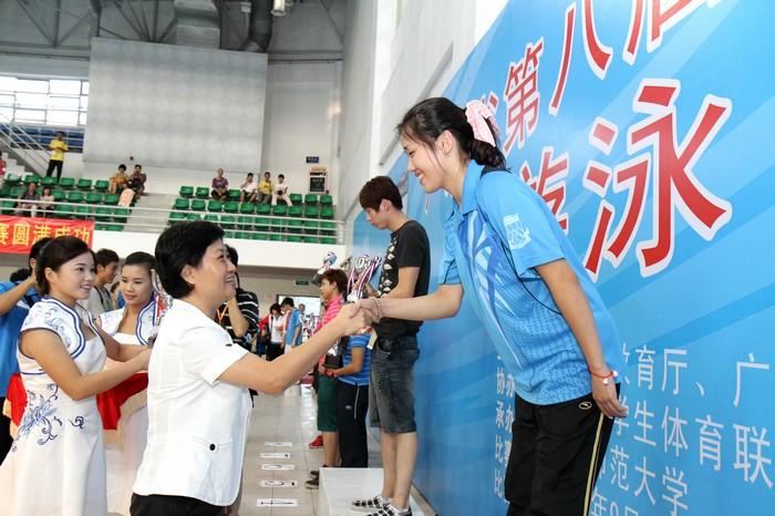 我校大学生体育代表团在广东省大学生运动会上取得历史性突破