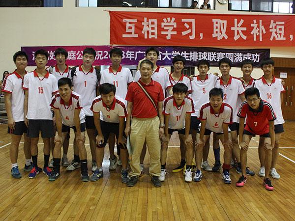 我校男、女排球队蝉联2013年广东省大学生排球联赛乙组冠军