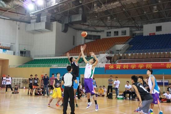"""体育科学学院""""新生杯""""篮球决赛"""