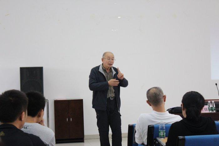 卢元镇教授莅临体育科学学院第七届勷勤论坛