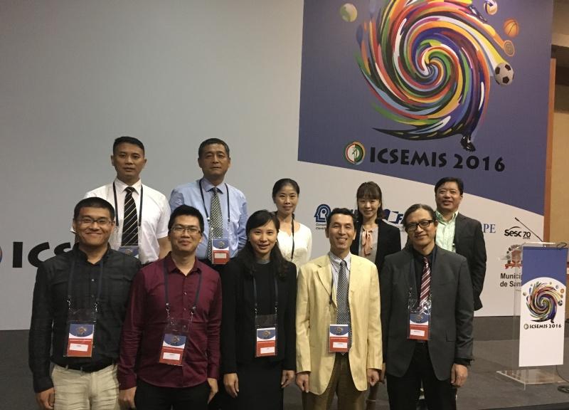 我校体科院代表参加2016巴西奥运科学大会(ICSEMIS)