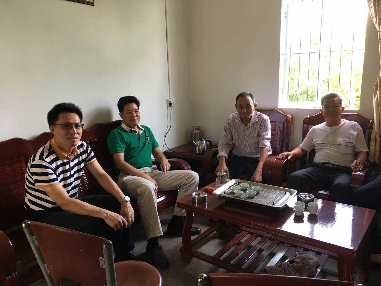 体育科学学院赴揭西县钱坑镇月翁村开展精准扶贫对接工作