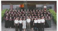旅游管理系2006届本科毕业生合影