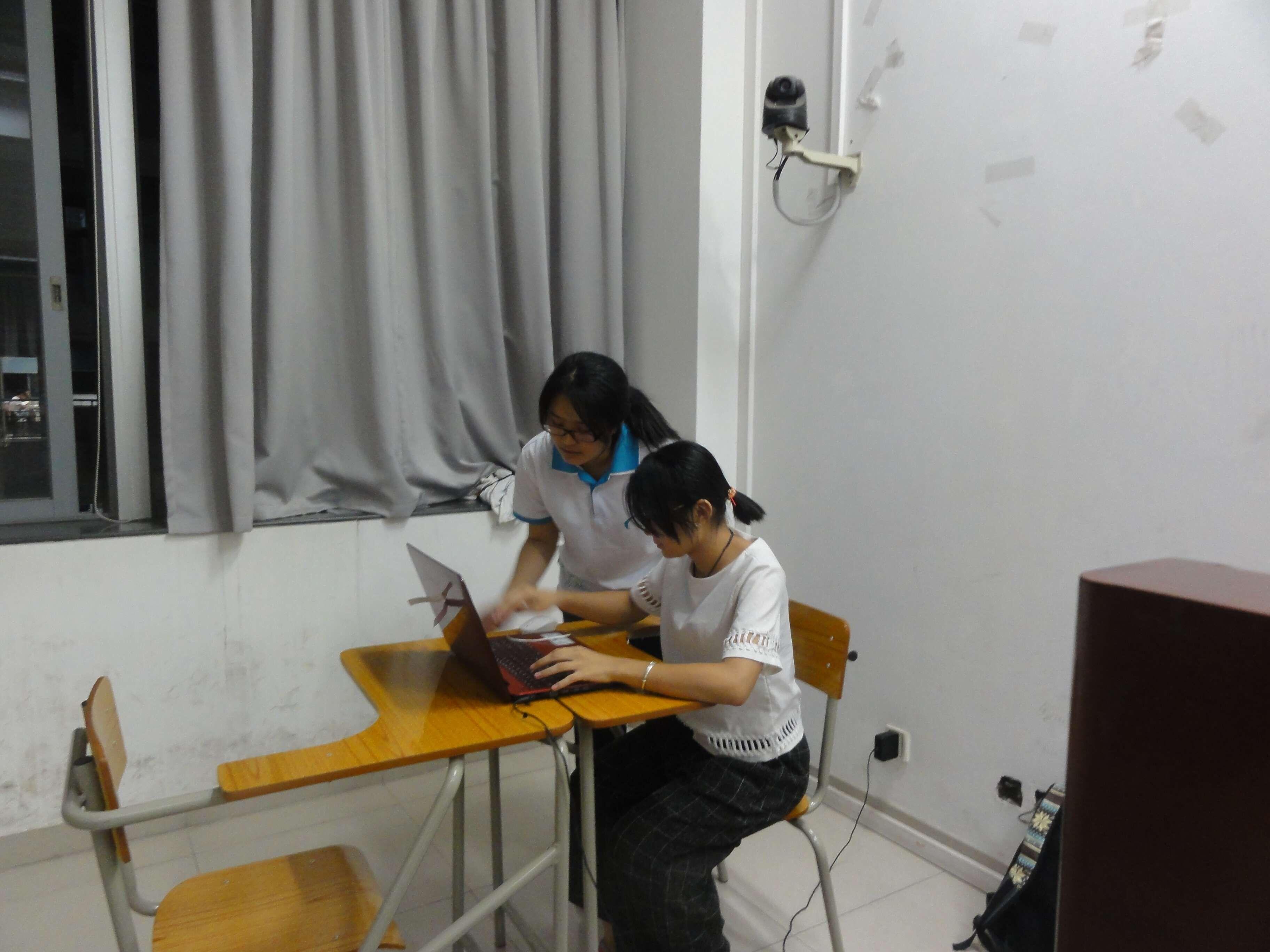 文学院演讲与沟通协会2015-2016学年普通话模拟测试顺利举行