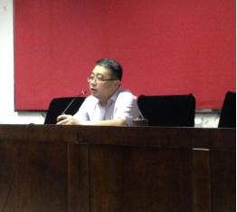 段吉方副院长为文学院2016年学生党员干部系列培训作首场讲座