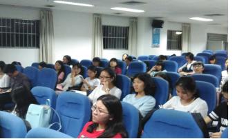 李金涛副院长与学生党员干部畅谈