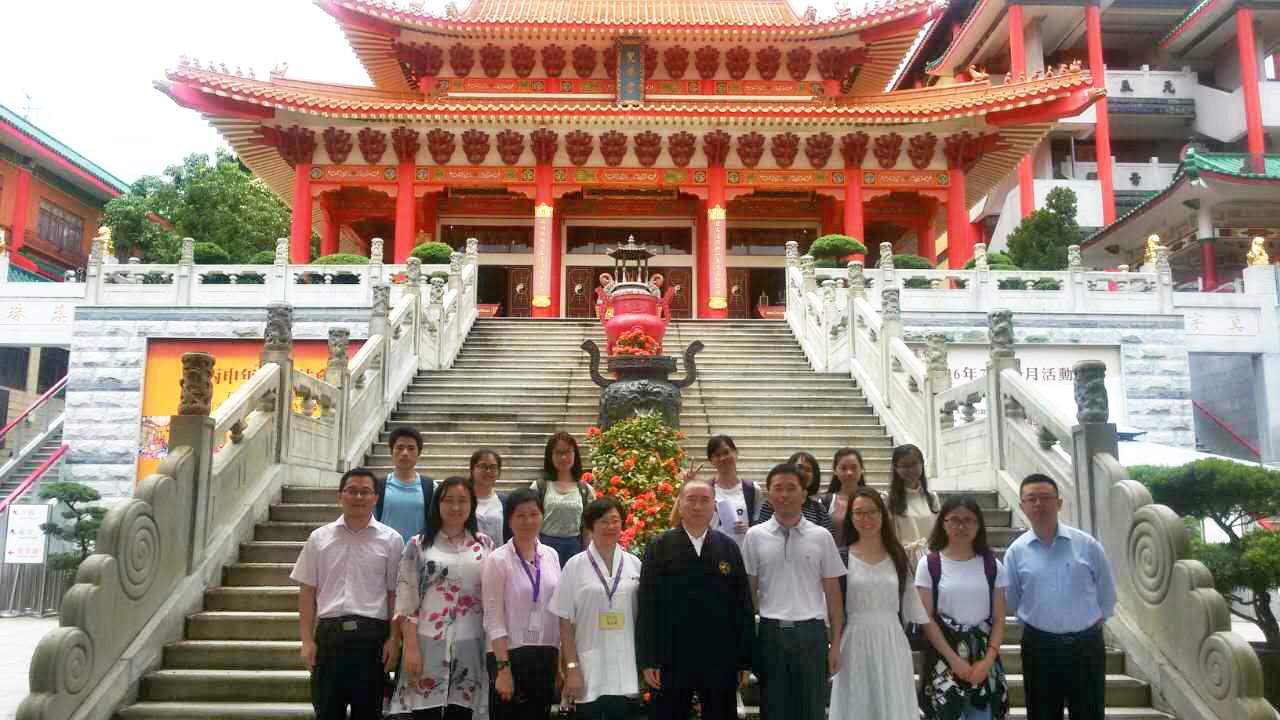 文学院受助学生赴香港交流学习