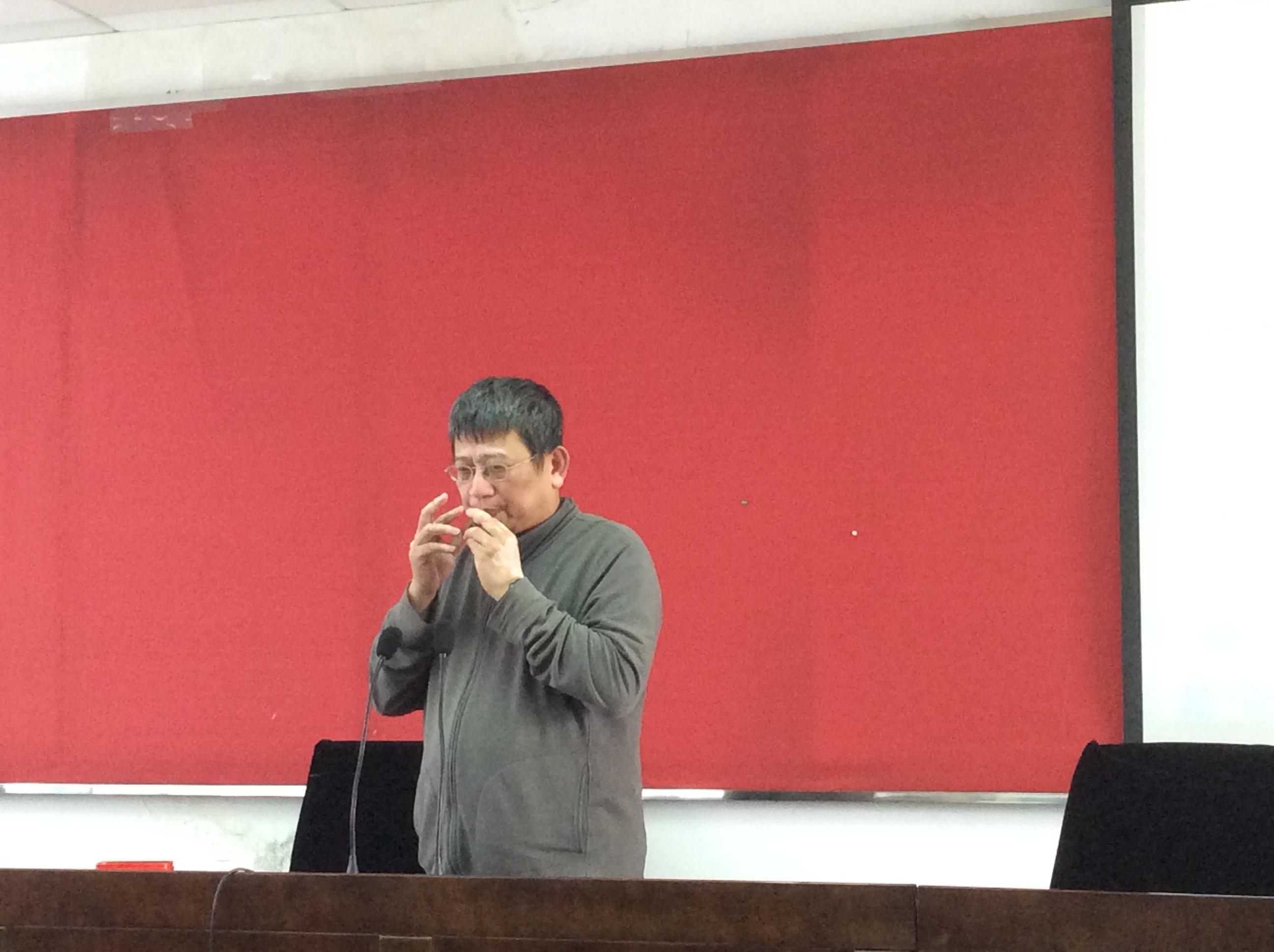 """文学院""""珠江人文讲坛""""系列报告之二十一成功举办"""