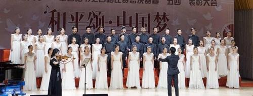 职业教育学院及南海学院合唱联队在华南师范大学第五届合