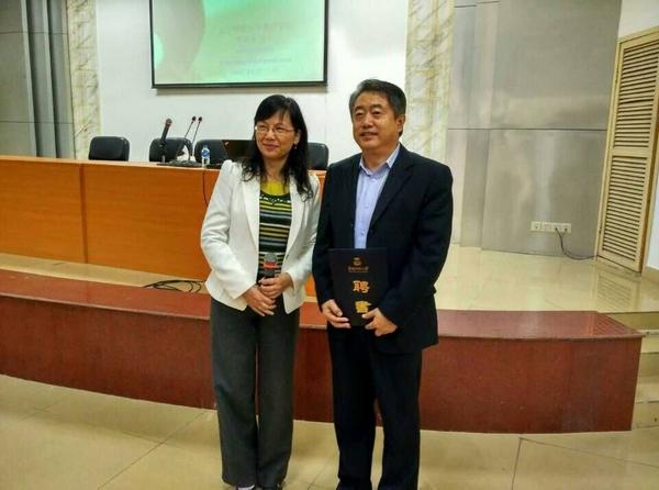 张桂春教授受聘为职业教育学院客座教授