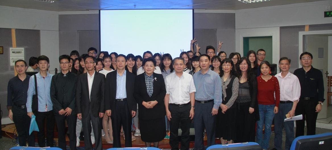 中国产学研合作促进会专家为我院师生作学术报告