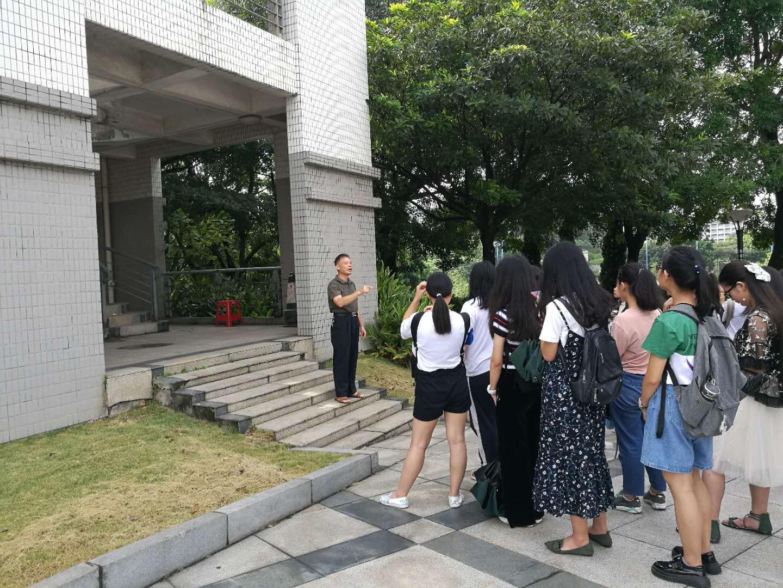 職業教育學院2018級學生赴廣工大科技園參觀學習